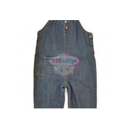 Комбенизон джинсовый на лямках для девочки