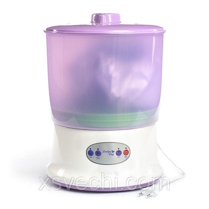 Проращиватель семян ДоброСад радость DS02, фиолетовый