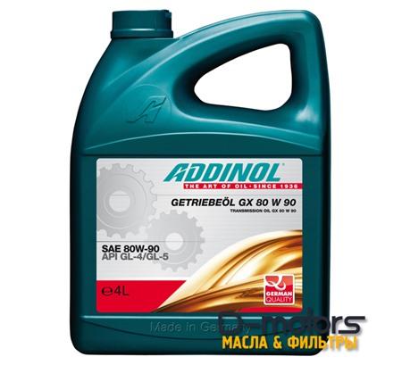 ADDINOL GX 80W-90 GL-4/GL-5 (4л)