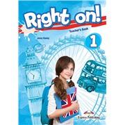 Right on! 1. Teacher's book (international). Книга для учителя
