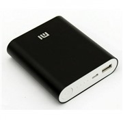 Power Bank XIAOMI, 10400 mAh Черный