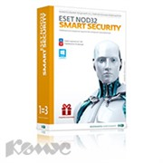 Программное обеспечение ESET NOD32 Smart Security+Bonus (3ПК/1г)NOD32-ESS-1220(BOX)