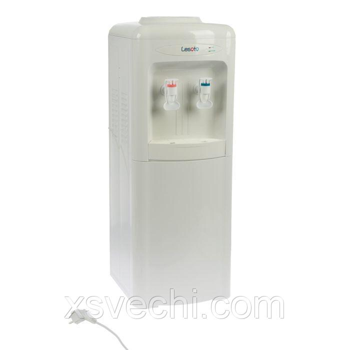Кулер для воды LESOTO 222 LK white, только нагрев, 500 Вт, белый