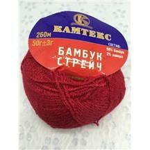 Бамбук стрейч №046 (красный) В упак. 10 шт
