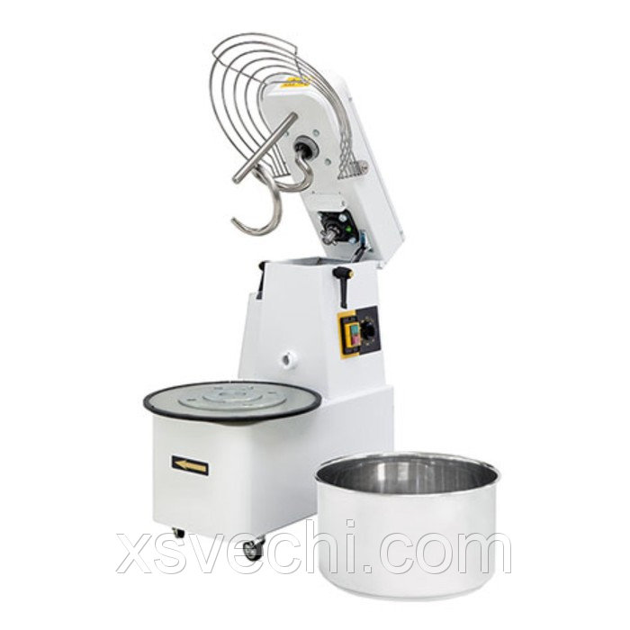 Тестомес Gemlux GHSR 10, до 35 кг/ч, объем дежи 10 л, таймер
