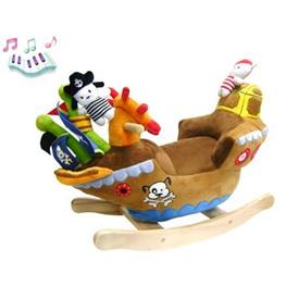 Качалка музыкальная Felice Корабль с пиратами