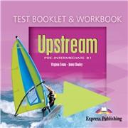 upstream pre-intermediate upstream pre-intermediate btest booklet & workbook audio cd. аудио cd к сборнику тестовых заданий и рабочей тетради