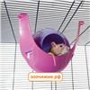 "Домик Savic S193 ""Sputnik"" 21,5*21,5*12,5 см для грызунов"