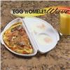Форма 2в1 для приготовления омлета и глазуньи Egg and Omelet Wave в микроволновой печи
