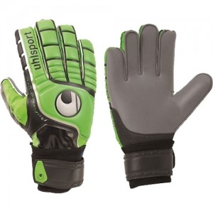Перчатки вратарские UHLSPORT Fangmaschine Soft Graphit SR