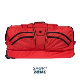Дорожная сумка  ALPHA DUFFLE красный/чёрный