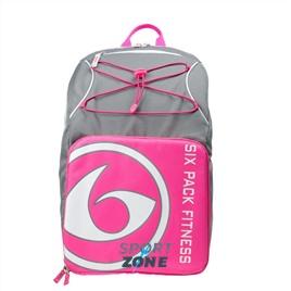 Спортивный рюкзак SIX PACK FITNESS (SPF) Pursuit Backpack 500 Grey/Pink/White (серый/розовый/белый)