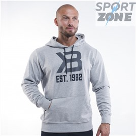 Толстовка Better Bodies Gym Hoodie, Grey Melange