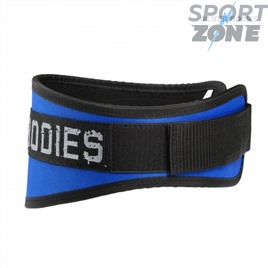 Неопреновый пояс Better Bodies Basic Gym Belt, Strong Blue