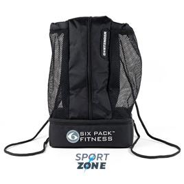 Спортивный рюкзак SIX PACK FITNESS Contender Stealth (черный/черный)