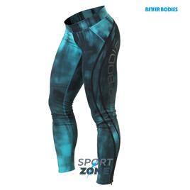 Спортивные лосины Better bodies Grunge tights, голубые