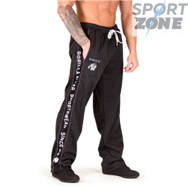 Брюки GORILLA WEAR 82 SWEAT PANTS BLACK/WHITE