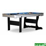 """Бильярдный стол для пула """"Team II"""" 6 ф (черный) ЛДСП, интернет-магазин товаров для бильярда Play-billiard.ru"""