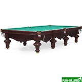 """Бильярдный стол для снукера """"Rococo"""" 12 ф (махагон), интернет-магазин товаров для бильярда Play-billiard.ru"""