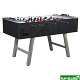Настольный футбол (кикер) «Inter» (146 х 75 х 88 см, черный), интернет-магазин товаров для бильярда Play-billiard.ru