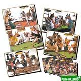 "Зеркало-постер ""Doggies"" (1 шт), интернет-магазин товаров для бильярда Play-billiard.ru"