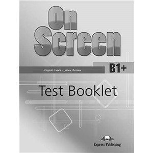 On screen b1+ test booklet
