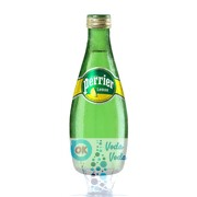 Perrier 0,33 лимон упаковка минеральной газированной воды - 24 шт.