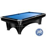 """Бильярдный стол для пула """"Dynamic III"""" 8 ф (черный с отливом), интернет-магазин товаров для бильярда Play-billiard.ru"""