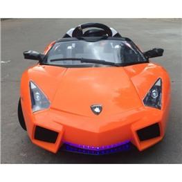 Электромобиль Lambo LS-518, оранжевый