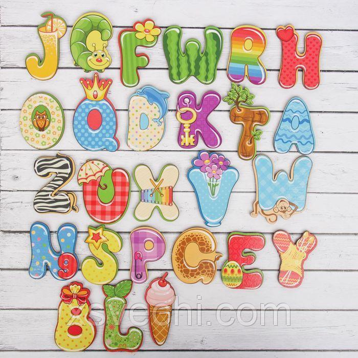 Алфавит английский «Веселый»