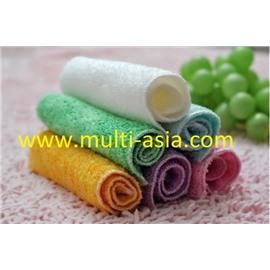 Бамбуковая салфетка для мытья посуды и уборки