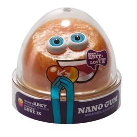 "NanoGum Жвачка для рук NanoGum ""Лави"". С ароматом ""LOVE IS"" и меняет цвет"