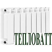 Радиатор алюминиевый тепловатт  80/500