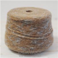 Пряжа Gepard Бежево-серый, 150м/50г, Lama Lima