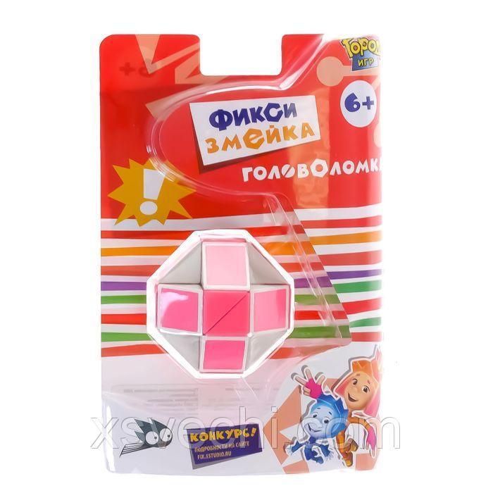 "Головоломка ""Фиксики"" Змейка розовая  GI-6389"