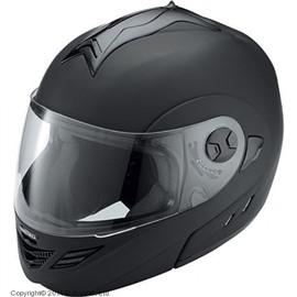 Шлем модуляр HX333 чёрный матовый M