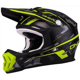 Шлем кроссовый 7Series CAMO серый/желтый XL