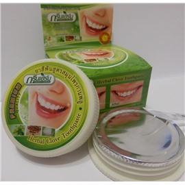 Тайская зубная паста Лесные травы, 25 гр.