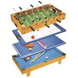 Многофункциональный игровой стол 4 в 1 (82х43х24 см, коричневый), интернет-магазин товаров для бильярда Play-billiard.ru