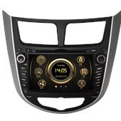 Штатное головное устройство Redpower 12067 для Hyundai Solaris
