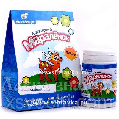 Драже «Алтайский мараленок» с солодкой