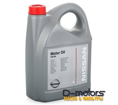 NISSAN MOTOR OIL 5W-30 (5л.)