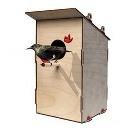 Lemmo Конструктор 3D деревянный Lemmo Скворечник