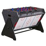 Стол-трансформер «Vortex 3-in-1» (3 игры: аэрохоккей, футбол, бильярд, 127 х 78.7 х 86.4 см, серый), интернет-магазин товаров для бильярда Play-billiard.ru