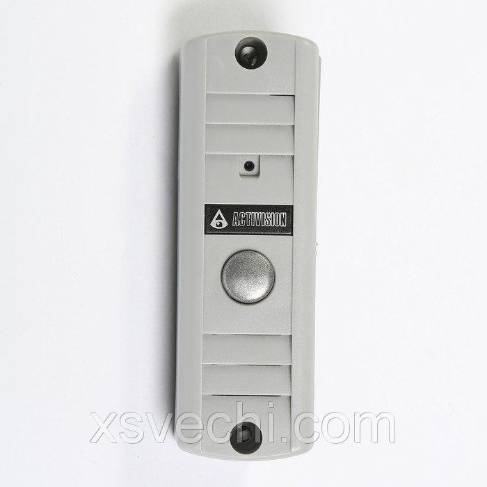 Вызывная панель Activision AVP-506, видео 420 ТВЛ, светло серая