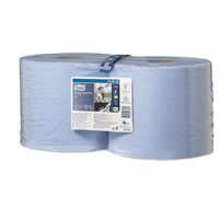 Tork Плюс протирочная бумага в рулоне голубая (W1/W2)