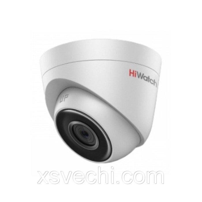 Видеокамера антивандал Hiwatch DS-I103 (2.8 mm), IP, 1 Мп, 720Р (HD), POE
