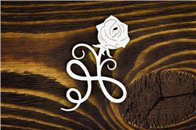 Роза с витым стеблем
