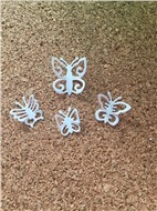 Набор мини бабочек