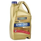 Моторное масло RAVENOL Super Synthetic SSO SAE, 0W-30 (5л.) АКЦИЯ 4+1